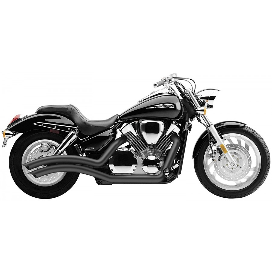 Wydech COBRA SPEEDSTER SWEPT Black Honda VTX1300 Wyprzedaż!!