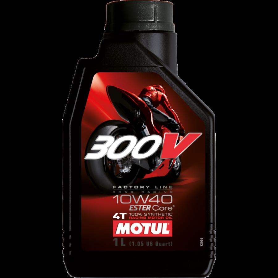 Olej MOTUL 300V Factory Line Road Racing 10W40