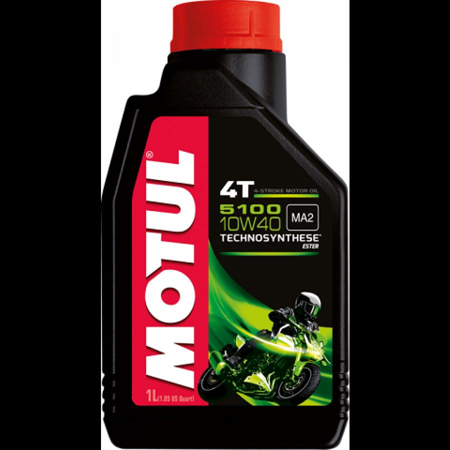 Olej silnikowy MOTUL 5100 4T 10W40 Półsyntetyczny