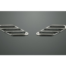 Chrome Diamond Light Lens Grills