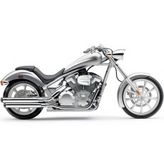 Wydechy 3-inch Slip-on Mufflers Honda Fury Sabre Stateline Interstate