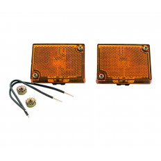 Amber side marker lights