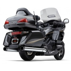 Wydechy 4-INCH MUFFLERS WITH DUAL CUT TIPS Goldwing