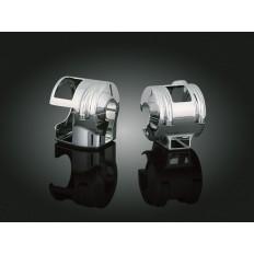 Chromowane osłony na przełączniki Honda VTX 1800