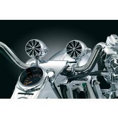 Bezprzewodowe głośniki motocyklowe na kierownicę 25,4 mm