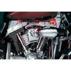 Chromowana osłona mocowania linki Harley Davidson