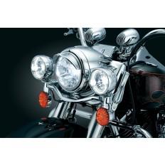 Daszek na lampę główną motocykla Harley Davidson