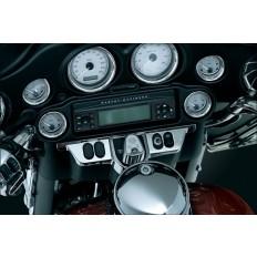 Chromowana nakładka na panel motocykla Harley Davidson