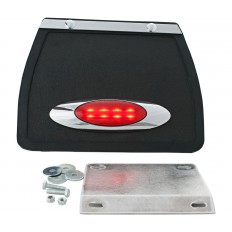 Chlapacz z owalnym światłem LED