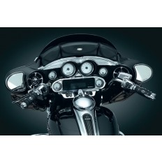 Skórzany piórnik na owiewkę motocykla H-D