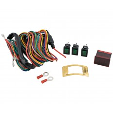 Digital voltmeter and accessory switch kit