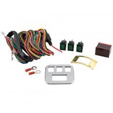 Cyfrowy woltomierz z akcesoriami i chromowany panel Goldwing