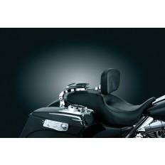 Chromowane oparcie motocyklowe pasażera i kierowcy