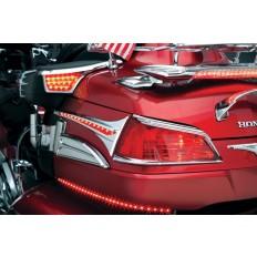 Daszki na tylne lampy motocykla Honda Goldwing 1800