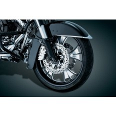 Chromowane osłony na lagi motocykla Harley Davidson