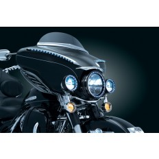 Akcent na owiewkę motocykla Harley Davidson