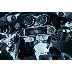 Chromowana nakładka na liczniki motocykla Harley Davidson
