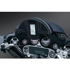 Piórnik na telefon montowany na owiewce motocykla