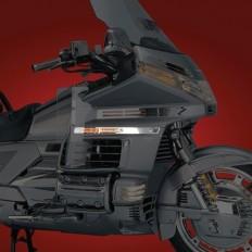 Chromowane listwy nad chłodnicę motocykla Honda Goldwing GL1500
