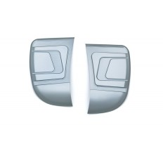 Bahn Media Door & Side Panel Accents, Chrome