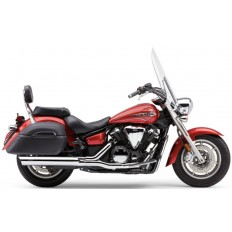 Wydechy Slip-on Muffler with Scalloped Tip Yamaha V-Star 1300