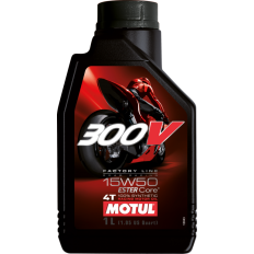 Olej MOTUL 300V Factory Line Road Racing 15W50