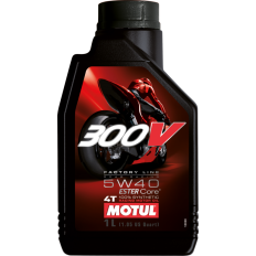 Olej MOTUL 300V Factory Line Road Racing 5W40