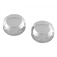 Chrome radio knobs