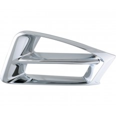 Chrome air intake accents