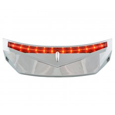 Chrome rear fender light
