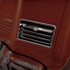Chromowane wloty kratki dolne Honda Goldwing