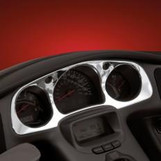Chromowana nakładka na liczniki motocykla Honda GL