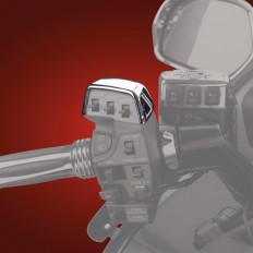 Chromowana nakładka na kontroler CB w motocyklu GL 1800