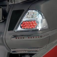 Ledowe oświetlenie sakw motocyklowych