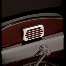 Chromowane nakładki na odblaski motocykla Honda VT750 Aero Spirit C2 Phantom