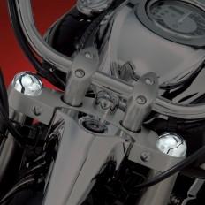 Chromowane nakładki na śruby lag motocykla Honda VT750 Aero Phantom R/S Spirit C2