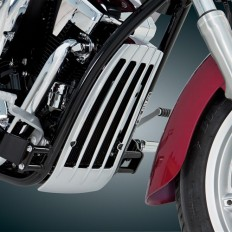 55-355 2 Radiator Grille on Bike