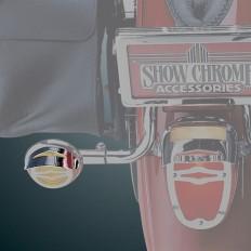 61-106 2 Celestar Turnsignal Visor on Bike