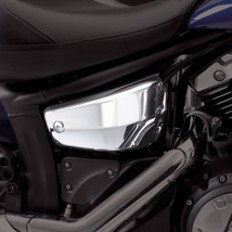 Chrome side covers Yamaha