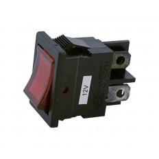 Czerwony podświetlany przełącznik kołyskowy Goldwing