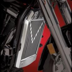Chromowana osłona chłodnicy motocykla Kawasaki VN2000