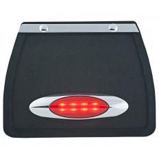 Chlapacz z owalnym czerwonym światłem LED
