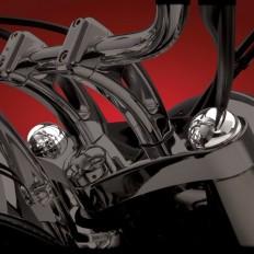Okrągłe nakładki na widelec Suzuki