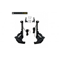 Black Front Caliper Covers with LED