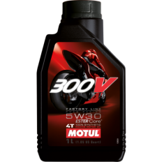 Olej MOTUL 300V Factory Line Road Racing 5W30