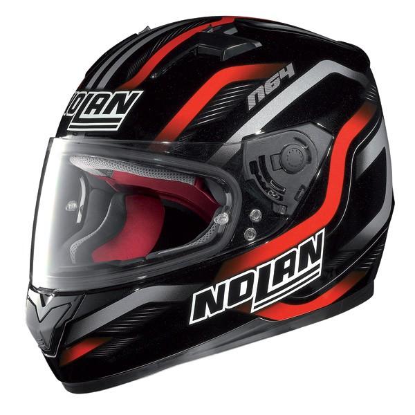 Kask Nolan Fusion 27 czerwono-czarny